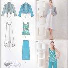 Simplicity Sewing Pattern 1621 Misses Sizes XXS-XXL (4-26) Easy Wardrobe Dress Top Pants Jacket