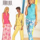 Butterick Sewing Pattern 3774 Misses Size 6-10 Easy Front Wrap Top Bias Skirt Pants