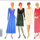 Butterick Sewing Pattern 3756 Misses Size 6-12 Easy Dress Princess Seam Bodice Gathered Skirt