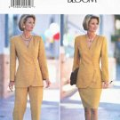 Butterick Sewing Pattern B3628 3628 Misses Size 6-10 Easy Jacket Straight Skirt Pants Suit