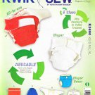 Kwik Sew Sewing Pattern 3690 Baby Size 13-29# Baby Diaper Cover Inserts Bag