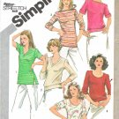 Simplicity Sewing Pattern 5133 Misses Sizes 10-14 Knit Pullover Tops Sleeve Neckline Options