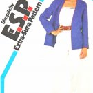 Simplicity Sewing Pattern 5796 Misses Sizes 6-10 Long Sleeve Jacket Pant Camisole