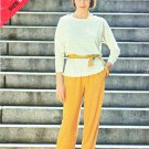 Butterick Sewing Pattern 5205 Misses Size 14-18 Long Sleeve Pullover Top Pants