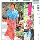 McCalls Sewing Pattern 8281 Misses Size 14-18 Easy Classics Shirt-Jacket Pants Shorts Skirt