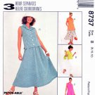 McCalls Sewing Pattern 8737 Misses Size 8-12  3 Hour Separates Pants Skirt Top