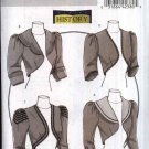 Butterick Sewing Pattern 5232 Misses Size 6-12 Victorian Lined Jacket Shrug Bolero