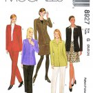 McCalls Sewing Pattern 8927 Misses Size 20-24 Wardrobe Unlined Jacket Pants Skirt