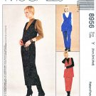McCalls Sewing Pattern 8956 Misses Size 4-14 SewNews Knit Top Jumper Pants Skirt Tunic
