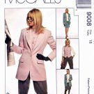 McCalls Sewing Pattern 9008 Misses Size 18 Wardrobe Lined Jacket Vest Pants Skirt