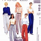 McCall's Sewing Pattern 9184 Misses Sizes 8-12 Fashion Basics Pants.