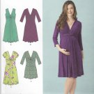 Simplicity Sewing Pattern 1360 Maternity Misses Size 8-16 Pullover Dress Mini-Dress Sleeve Options