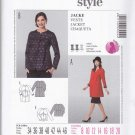 Burda Sewing Pattern 7024 Maternity Misses Size 8-20 Button Front Raglan Sleeve Jacket