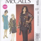 McCall's Sewing Pattern 7029 Women's Plus Sizes 18W-24W Easy Pullover Jacket Tunic Dress Pants