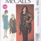 McCall's Sewing Pattern 7029 Women's Plus Sizes 26W-32W Easy Pullover Jacket Tunic Dress Pants