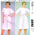 McCall's Sewing Pattern 8510 Misses Sizes 12 Easy Pullover Gathered Skirt Dress Sleeve Options