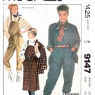 McCall's Sewing Pattern 9147 Misses Sizes 16 Shari Belafonte-Harper Overalls Jumper Jacket