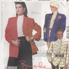 McCalls Sewing Pattern 2631 Misses Size 10-14 Easy Unlined Double Single Breasted Jacket