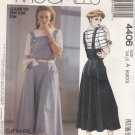 McCalls Sewing Pattern 4406 Misses Size 6-10 Easy Knit Short Sleeve Top Jumper