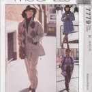 McCalls Sewing Pattern 7779 Misses Size 8-12 Easy Sew News Jacket Pants Skirt