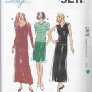 Kwik Sew Sewing Pattern 2619 Misses Sizes XS-XL (approx 6-22) Knit Skirts Tops Sleeve Length Options