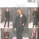 Butterick Sewing Pattern 4035 B4035 Misses Size 8-10-12 Easy Wardrobe Jacket Vest Skirt Pants