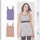 Kwik Sew Sewing Pattern 3523 Misses Sizes XS-XL (approx 6-22) Pullover Knit Tops Tunics