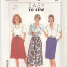 Simplicity Sewing Pattern 9600 Misses Size 16-24 Easy Skirts Two Lengths Gathered Straight