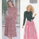 Butterick Sewing Pattern 5050 Misses Size 6-10 Easy Long Sleeve Gathered Skirt Dress