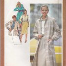 Simplicity Sewing Pattern 9482 Misses Sizes 12 Wardrobe Coat Jacket Dress Skirt Blouse Tie