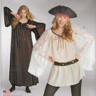 Simplicity Sewing Pattern S0687 0687 Misses Sizes 8-18 Easy Pullover Pirate Top Tunic Gown