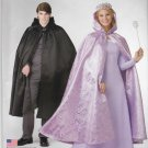 Simplicity Sewing Pattern S0689 0689 Misses Mens Sizes XS-XL Easy Hooded Cape Costume