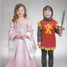 Simplicity Sewing Pattern S0700 0700 Girls Boys Sizes 3-8 Easy Princess Knight Costume