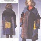 Vogue Sewing Pattern 1377 V1377 Misses' 4-14 Koos Van Den Akker Embellished Long Sleeve Coat