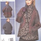 Vogue Sewing Pattern 1277 Misses' 16-26 Koos Van Den Akker Reversible Long Sleeve Jacket