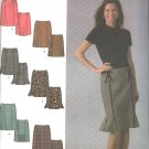 Simplicity Sewing Pattern 4787 Misses Size 6-12 Easy Skirts Trim Kick Pleat Variations