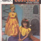 Simplicity Sewing Pattern 8514 0666 Girls Size 2-6 Fairy Tale Princess Costumes