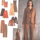 Simplicity Sewing Pattern 3566 Misses Size 16-18-20-22-24 Easy Wardrobe Dress Jacket Top Skirt Pants