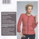 Vogue Sewing Pattern 8804 V8804 Misses Size 6-14 Claire Shaeffer Couture Button Front Jacket