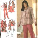 Simplicity Sewing Pattern 4276 Woman's Plus size 20W-28W Wardrobe Top Skirt Jacket Pants Coat