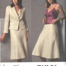 Vogue Sewing Pattern 2895 Misses Size 20-22-24 DKNY Jacket Skirt Suit