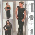 Burda Sewing Pattern 8858 Misses Sizes 8-20 Easy Formal Dress Evening Gown Shirt