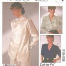 McCall's Sewing Pattern 2721 Misses Size 8-12 Easy Woman's Day Classic Button Front Blouse