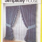 Simplicity House Sewing Pattern 118 Ten Window Treatments Curtain Valance