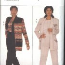 Butterick Sewing Pattern 4091 Misses Size 8-10-12 Easy Jacket Top Pants