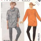 McCall's Sewing Pattern 2730 Misses Size 14-16 (Medium) Easy Knit Top Pants Optional Stirrup Pants