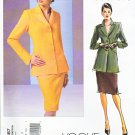 Vogue Sewing Pattern 2887 Misses size 12-14-16 Couture Lined Jacket Skirt Suit