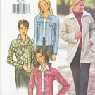 Butterick Sewing Pattern 3595 Misses Size 6-8-10 Easy Lined Blue Jean Style Button Front Jacket