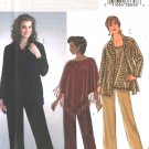Butterick Sewing Pattern 4303 Womens Plus Size 26W-32W Easy Wardrobe Poncho Shirt Top Pants