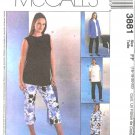 McCall's Sewing Pattern 3881 M3881 Misses Size 6-12 Maternity Wardrobe Jacket Dress Top Pants